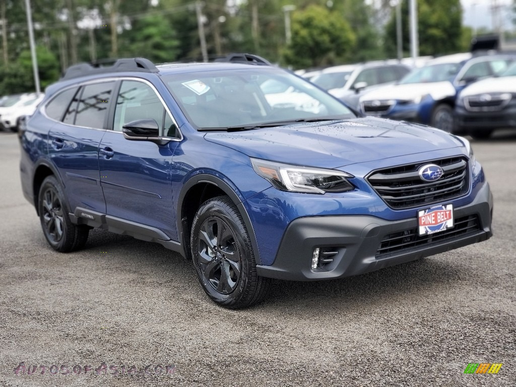 2020 Outback Onyx Edition XT - Abyss Blue Pearl / Gray StarTex photo #1