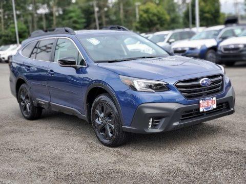 Abyss Blue Pearl 2020 Subaru Outback Onyx Edition XT