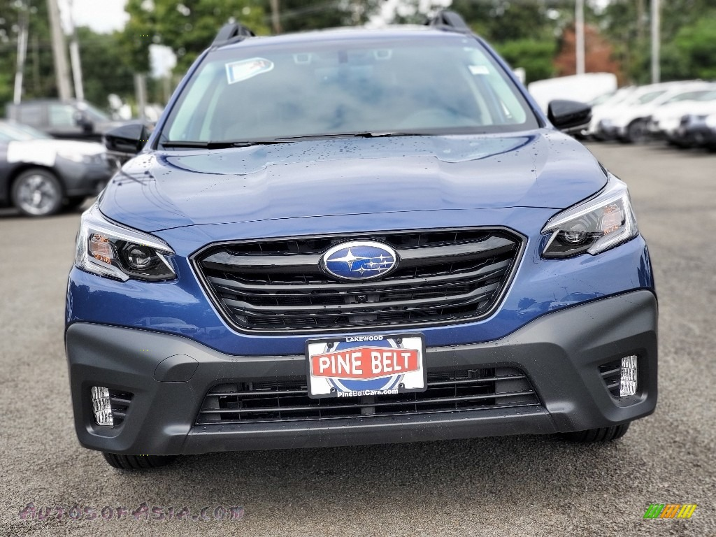 2020 Outback Onyx Edition XT - Abyss Blue Pearl / Gray StarTex photo #3