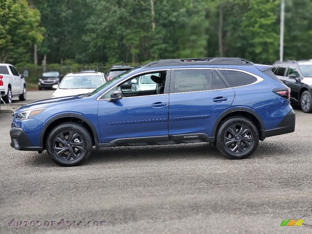 2020 Outback Onyx Edition XT - Abyss Blue Pearl / Gray StarTex photo #4