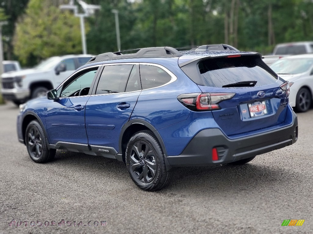 2020 Outback Onyx Edition XT - Abyss Blue Pearl / Gray StarTex photo #6