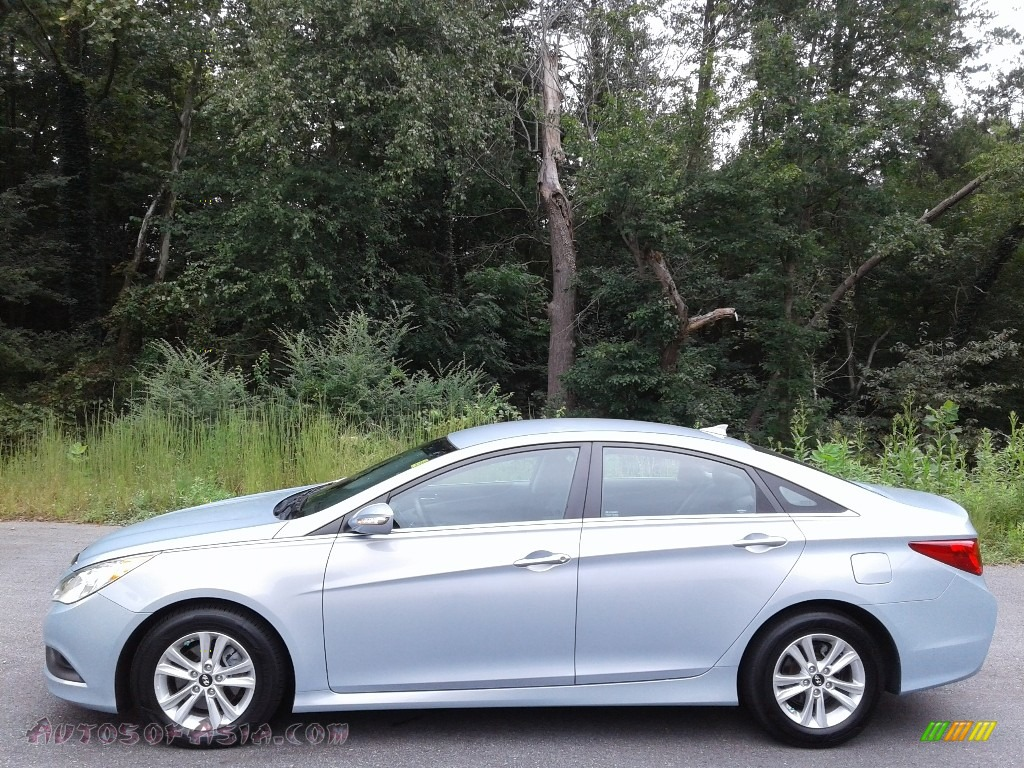2014 Sonata GLS - Iridescent Silver Blue Pearl / Gray photo #1