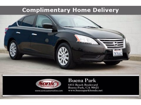 Super Black 2013 Nissan Sentra S