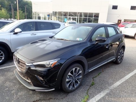 Jet Black Mica 2019 Mazda CX-3 Grand Touring AWD