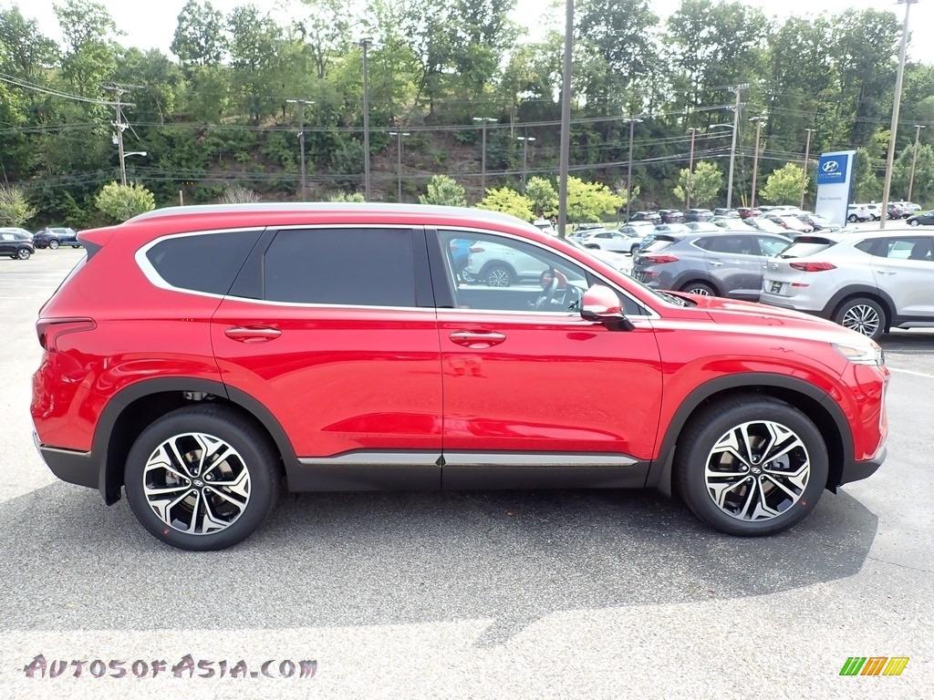 2020 Santa Fe Limited 2.0 AWD - Calypso Red / Black photo #1