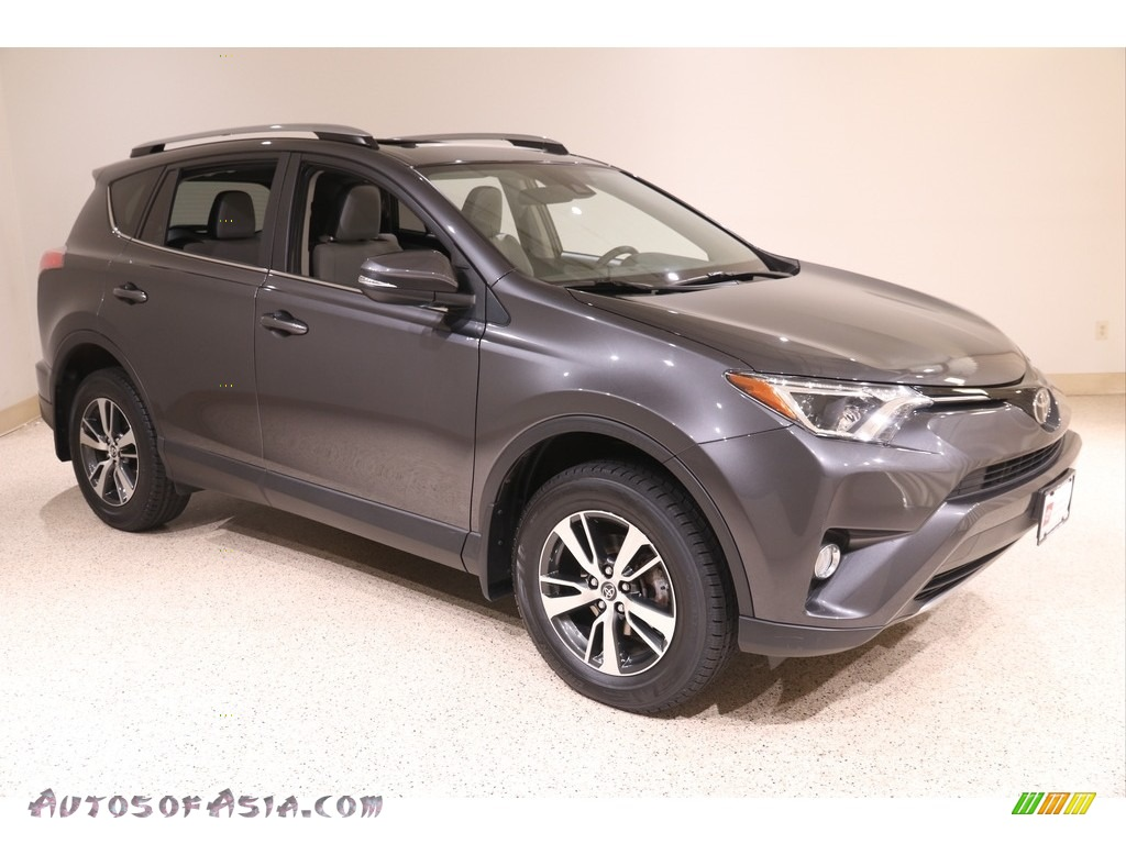 2017 RAV4 XLE - Magnetic Gray Metallic / Ash photo #1