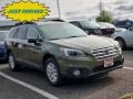 Subaru Outback 2.5i Premium Wilderness Green Metallic photo #1