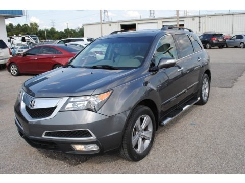 Polished Metal Metallic 2011 Acura MDX Technology