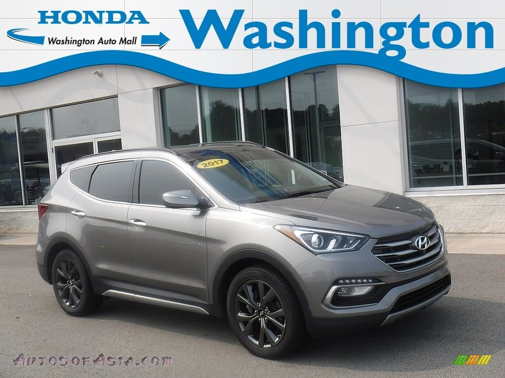 2017 Santa Fe Sport 2.0T Ulitimate AWD - Mineral Gray / Black photo #1