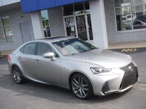 Silver Lining Metallic 2017 Lexus IS 300 AWD