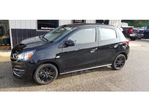 Mystic Black Metallic 2020 Mitsubishi Mirage Limited Edition