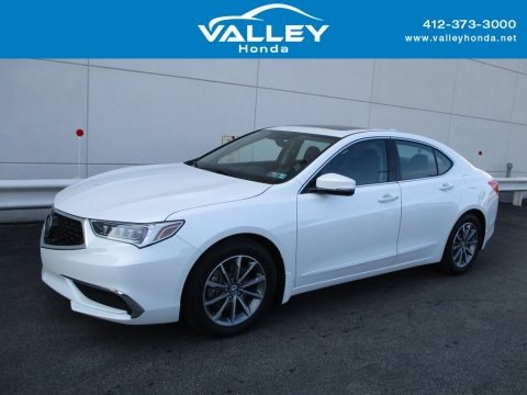 Platinum White Pearl 2020 Acura TLX Sedan