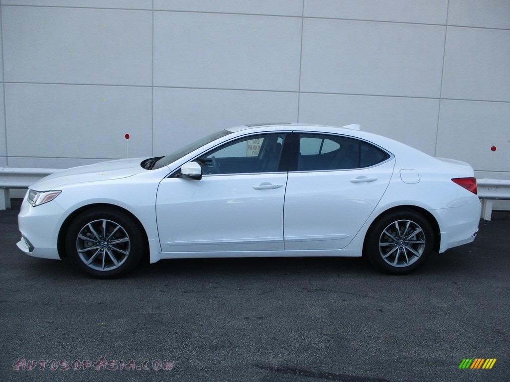2020 TLX Sedan - Platinum White Pearl / Ebony photo #2