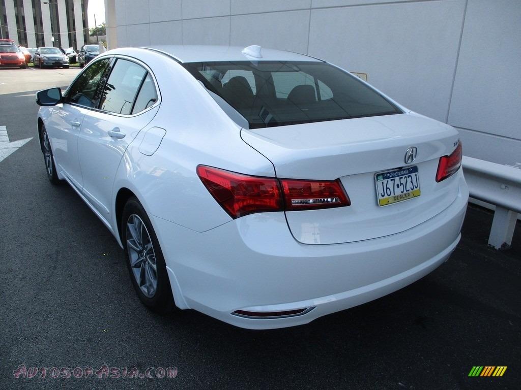 2020 TLX Sedan - Platinum White Pearl / Ebony photo #3