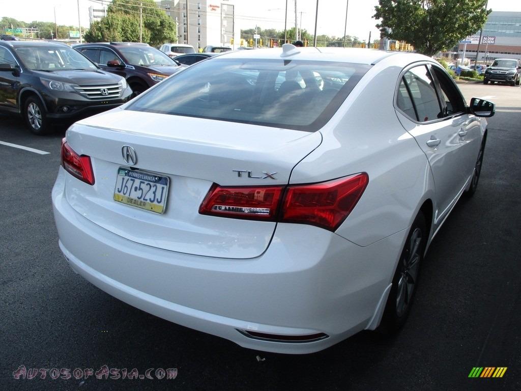 2020 TLX Sedan - Platinum White Pearl / Ebony photo #5