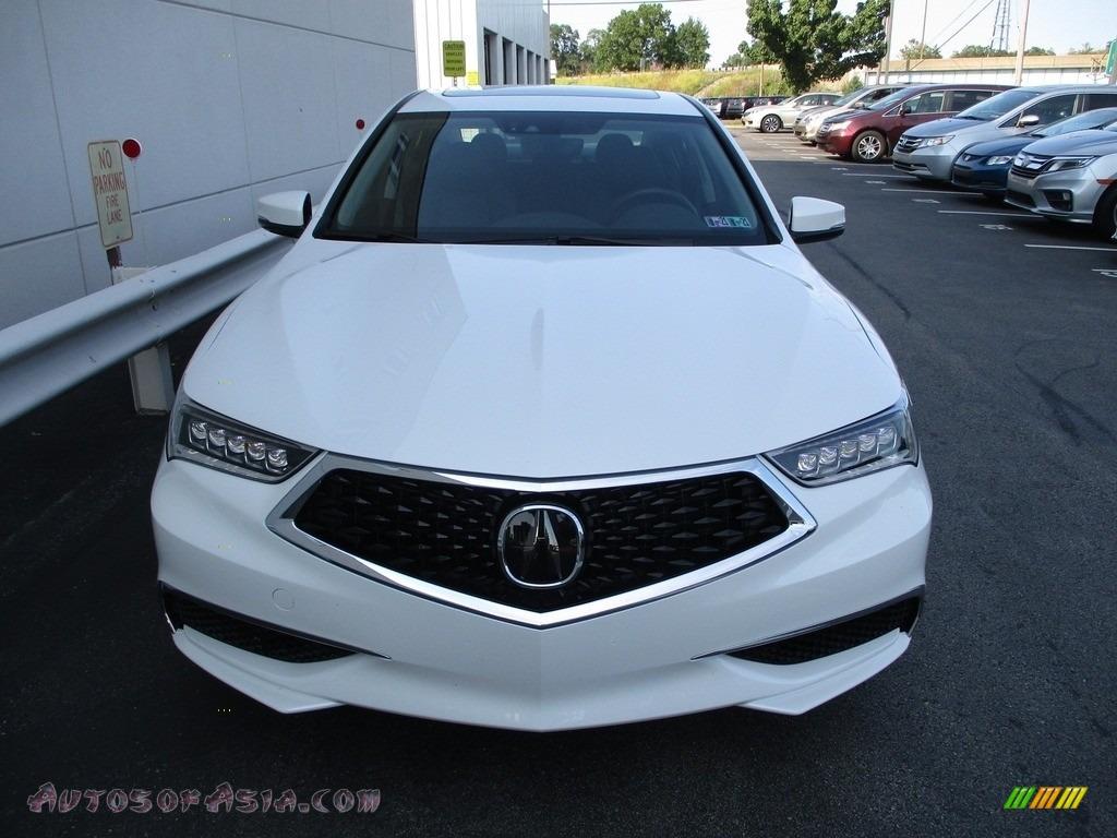 2020 TLX Sedan - Platinum White Pearl / Ebony photo #8