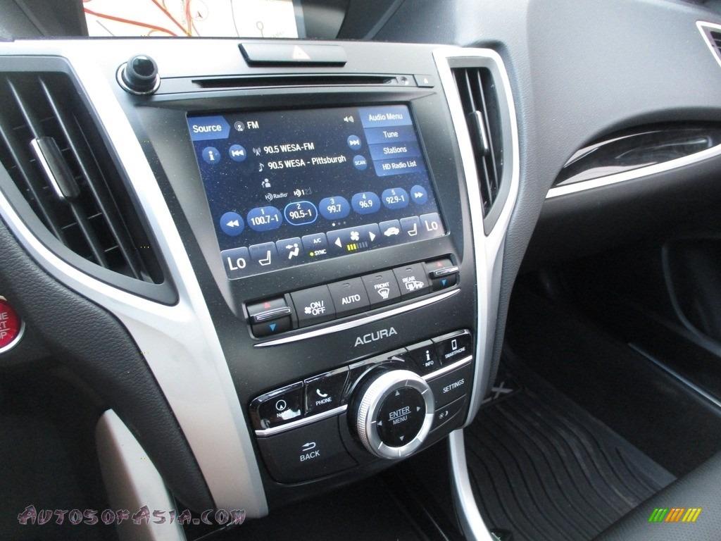 2020 TLX Sedan - Platinum White Pearl / Ebony photo #17