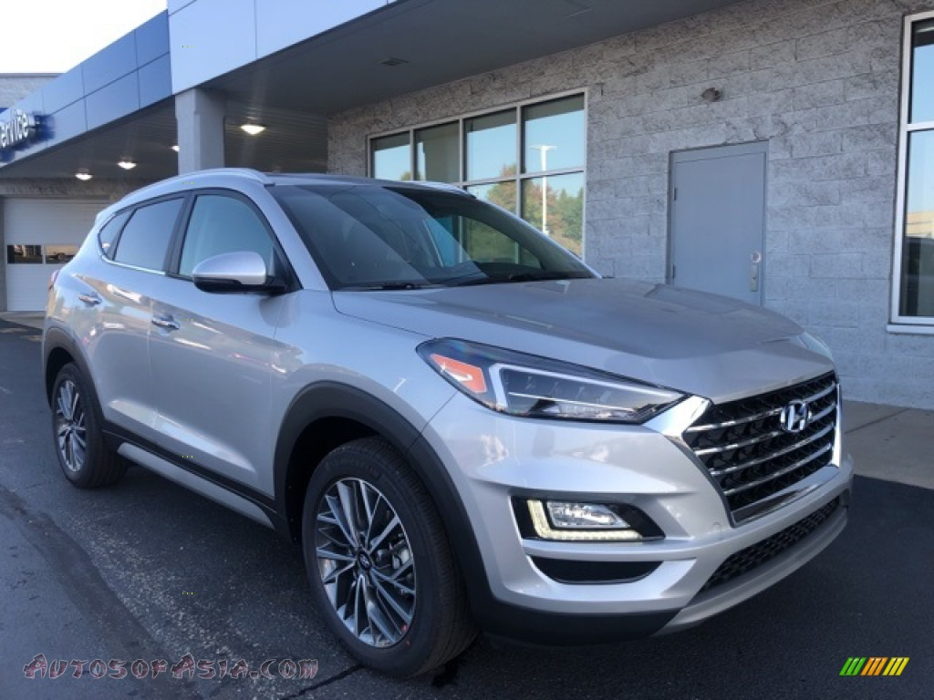 2021 Tucson Limited AWD - Stellar Silver / Black photo #1