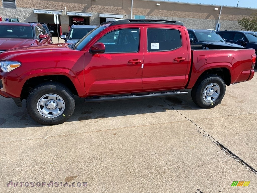 2020 Tacoma SR Double Cab 4x4 - Barcelona Red Metallic / Cement photo #1