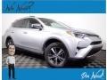 Toyota RAV4 XLE AWD Silver Sky Metallic photo #1