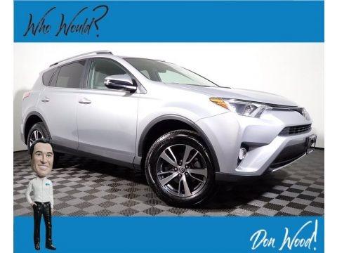 Silver Sky Metallic 2017 Toyota RAV4 XLE