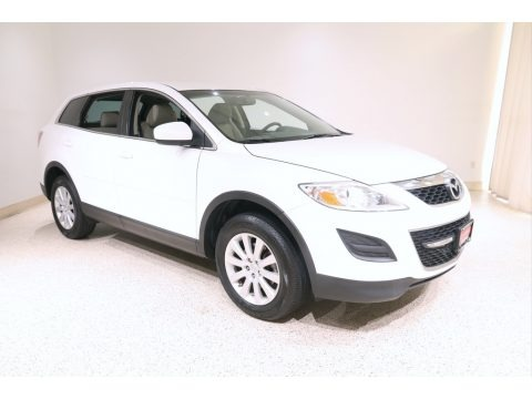 Crystal White Pearl Mica 2010 Mazda CX-9 Touring AWD