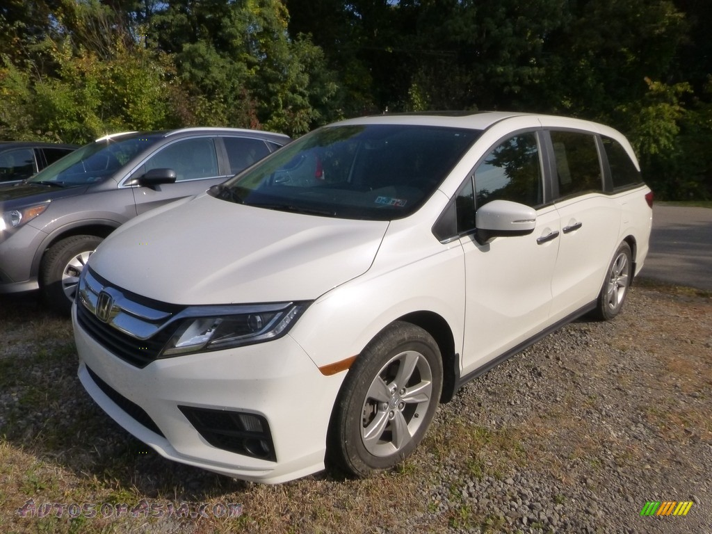 2018 Odyssey EX-L - White Diamond Pearl / Gray photo #1