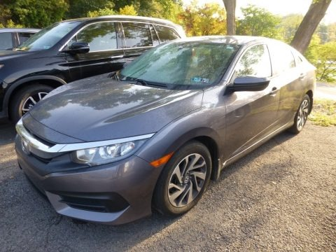 Sonic Gray Pearl 2017 Honda Civic EX Sedan
