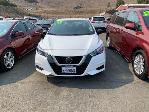 Fresh Powder White 2020 Nissan Versa S