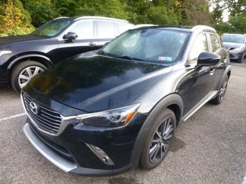 Jet Black Mica 2018 Mazda CX-3 Grand Touring AWD