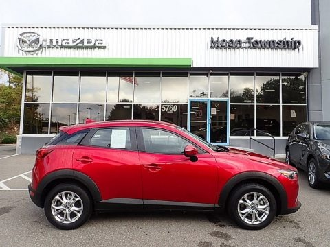 Soul Red Metallic 2019 Mazda CX-3 Sport AWD
