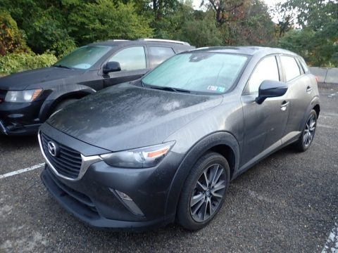 Machine Gray Metallic 2018 Mazda CX-3 Touring AWD