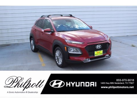 Pulse Red 2021 Hyundai Kona SEL