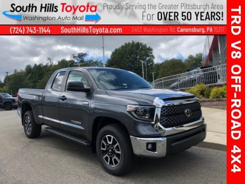 Magnetic Gray Metallic 2021 Toyota Tundra TRD Off Road Double Cab 4x4