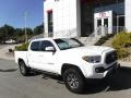 Toyota Tacoma SR5 Double Cab 4x4 Super White photo #1