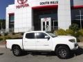 Toyota Tacoma SR5 Double Cab 4x4 Super White photo #2