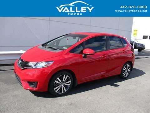 Milano Red 2015 Honda Fit EX