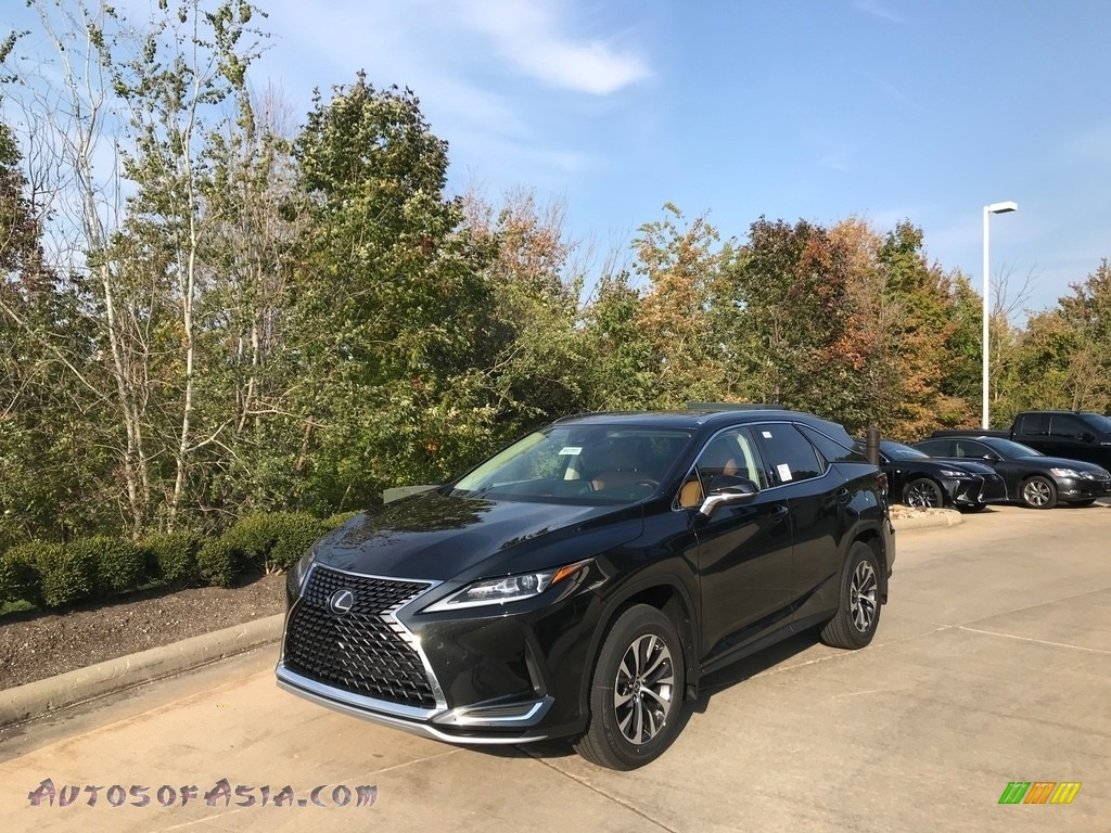 2021 RX 350L AWD - Caviar / Glazed Caramel photo #1