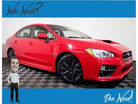 Pure Red 2017 Subaru WRX