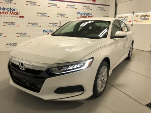 Platinum White Pearl 2020 Honda Accord LX Sedan