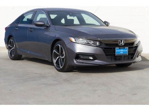 Modern Steel Metallic 2020 Honda Accord Sport Sedan