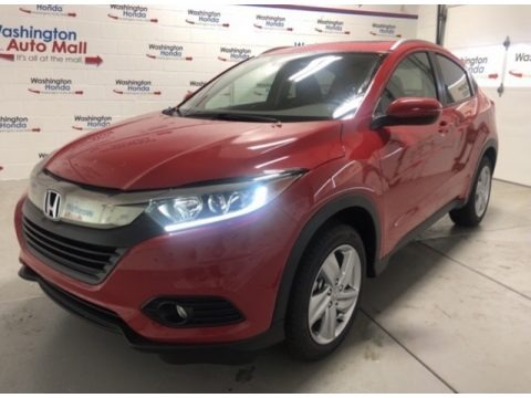 Milano Red 2020 Honda HR-V EX AWD