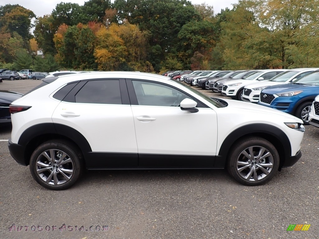 2021 CX-30 Select AWD - Snowflake White Pearl Mica / Black photo #1