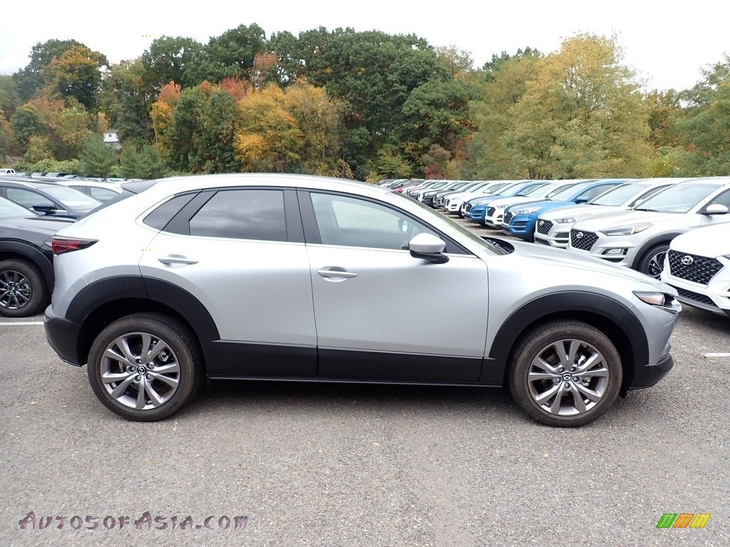 2021 CX-30 Select AWD - Sonic Silver Metallic / Black photo #1