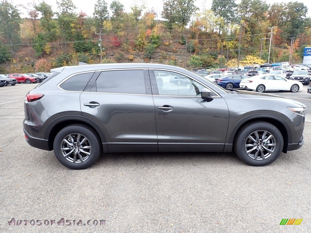 2021 CX-9 Touring AWD - Machine Gray Metallic / Black photo #1