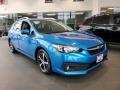 Subaru Impreza Premium 5-Door Ocean Blue Pearl photo #1