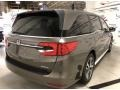 Honda Odyssey EX-L Pacific Pewter Metallic photo #3