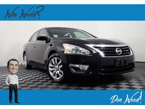 Super Black 2015 Nissan Altima 2.5 S