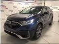 Honda CR-V EX-L AWD Obsidian Blue Pearl photo #1