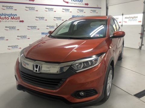 Orangeburst Metallic 2020 Honda HR-V EX AWD